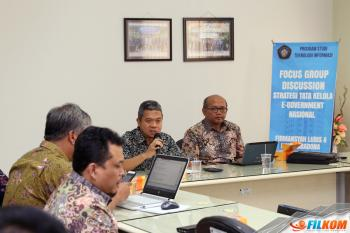 FGD Strategi Tata Kelola E-Government